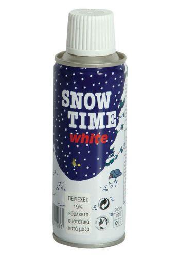 Χριστουγεννιάτικο Σπρέι Τζαμιού Άσπρο (Χιόνι)
