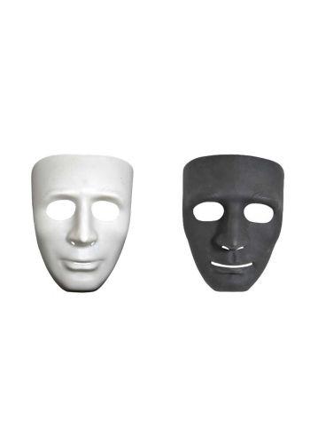 Αποκριάτικο Αξεσουάρ Μάσκα Προσώπου - 2 Χρώματα