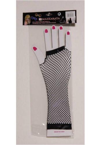 Αποκριάτικο Αξεσουάρ Γάντια Διχτυωτά, Μακριά