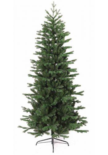 Χριστουγεννιάτικο Στενό Δέντρο ΜΑΝΗΑΤΤΑΝ (2,4m)