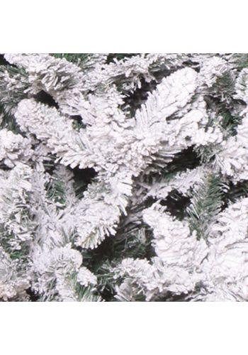 Χριστουγεννιάτικο Παραδοσιακό Δέντρο FLOCKED PINE Χιονισμένο (1,5m)