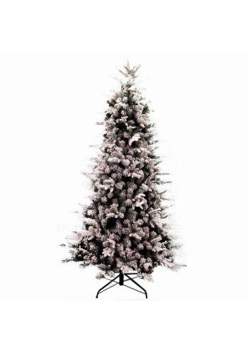 Χριστουγεννιάτικο Παραδσιακό Δέντρο MILWAUKEE Χιονισμένο (2,4m)