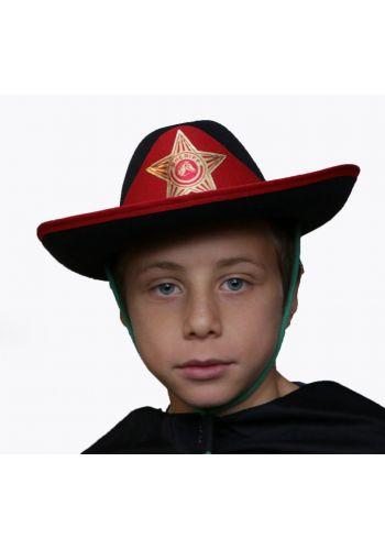 Αποκριάτικο Αξεσουάρ Μαύρο Καπέλο Σερίφη