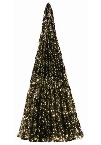 Χριστουγεννιάτικο Δέντρο Giant Tree PVC, με 8880 LED (12,1m)