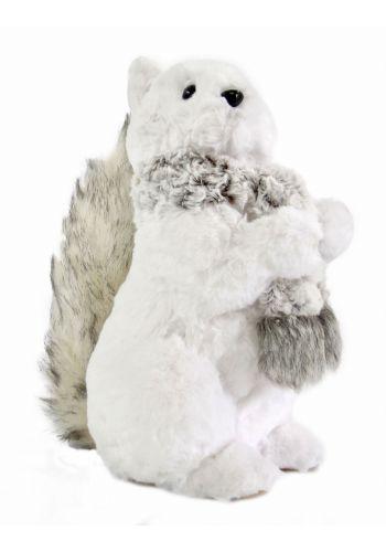 Χριστουγεννιάτικος Πιγκουίνος, με Γκρι Κασκόλ (29cm)