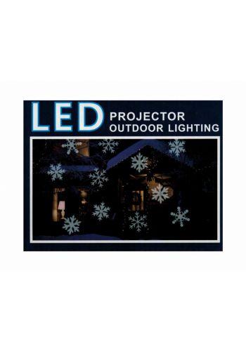 Χριστουγεννιάτικος Προβολέας LED, Χιονονιφάδα