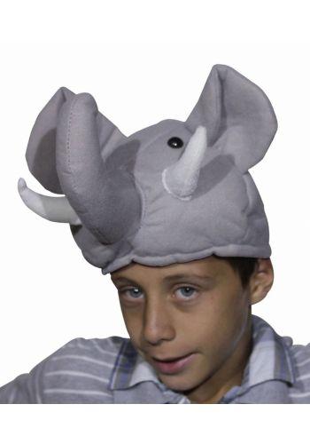 Αποκριάτικο Αξεσουάρ Σκούφος Ελέφαντας