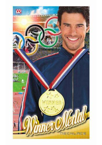"""Αποκριάτικο Αξεσουάρ Χρυσό Μετάλλιο """"Winner"""""""