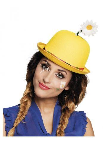Αποκριάτικο Αξεσουάρ Καπέλο με Λουλούδι