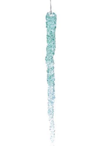 Χριστουγεννιάτικος Σταλακτίτης Γαλάζιος (23cm)