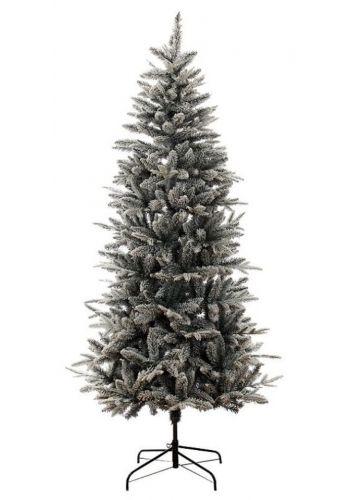 Χριστουγεννιάτικο Στενό Χιονισμένο Δέντρο Alaska (2,1m)