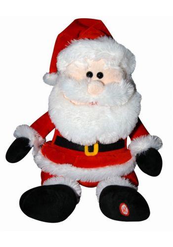 Χριστουγεννιάτικος Λούτρινος Άγιος Βασίλης Καλαντούλης Ελληνικά Κάλαντα (30εκ)